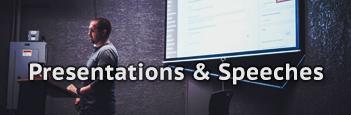 Presentations & Speech Practice
